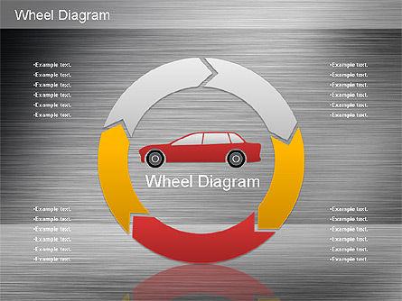 Automotive Diagram, Slide 16, 01184, Process Diagrams — PoweredTemplate.com