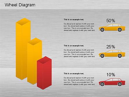Diagrama Automotriz para presentaciones de PowerPoint, descargar ...
