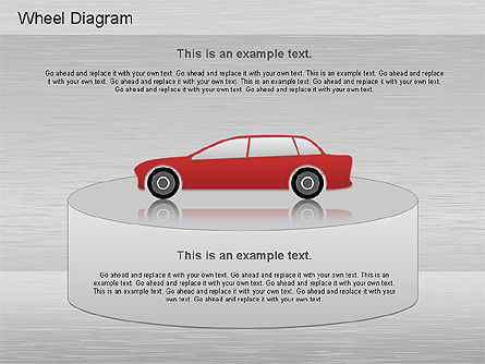 Automotive Diagram, Slide 3, 01184, Process Diagrams — PoweredTemplate.com