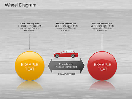 Automotive Diagram, Slide 4, 01184, Process Diagrams — PoweredTemplate.com