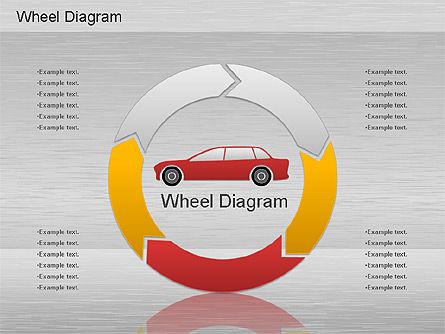 Automotive Diagram, Slide 5, 01184, Process Diagrams — PoweredTemplate.com