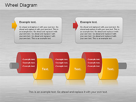 Automotive Diagram, Slide 6, 01184, Process Diagrams — PoweredTemplate.com