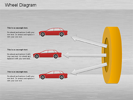 Automotive Diagram, Slide 7, 01184, Process Diagrams — PoweredTemplate.com
