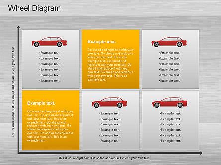 Automotive Diagram, Slide 9, 01184, Process Diagrams — PoweredTemplate.com