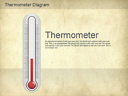 Stage Diagrams: Thermometer Diagram #01186