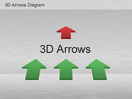 Process Diagrams: 3D Process Arrows Collection #01188