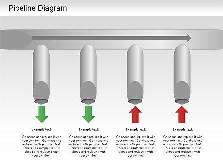 Pipeline Diagram , Slide 2, 01192, Puzzle Diagrams — PoweredTemplate.com
