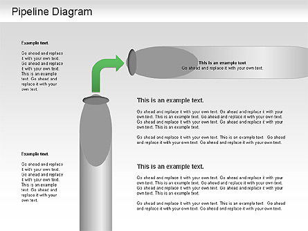 Pipeline Diagram , Slide 3, 01192, Puzzle Diagrams — PoweredTemplate.com