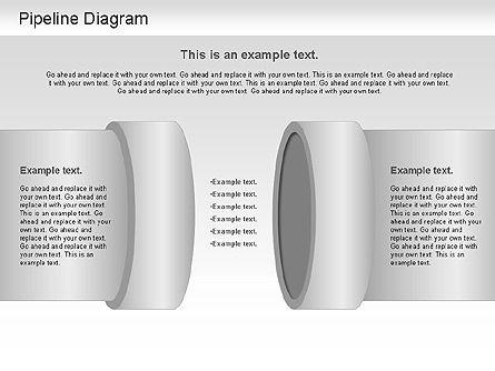 Pipeline Diagram , Slide 4, 01192, Puzzle Diagrams — PoweredTemplate.com