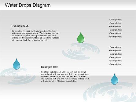 Water Drops Diagram, Slide 6, 01193, Stage Diagrams — PoweredTemplate.com