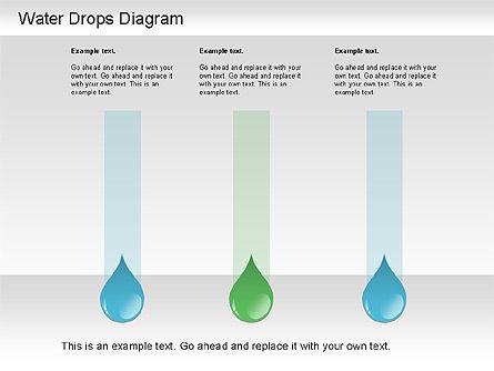 Water Drops Diagram, Slide 7, 01193, Stage Diagrams — PoweredTemplate.com