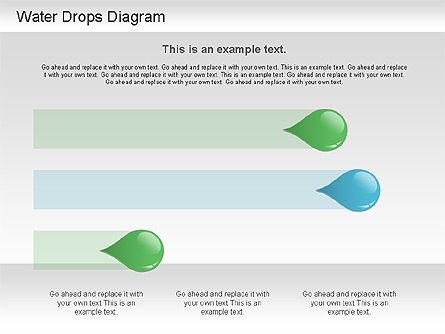Water Drops Diagram, Slide 9, 01193, Stage Diagrams — PoweredTemplate.com
