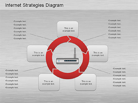 Network Development Diagram, Slide 4, 01195, Stage Diagrams — PoweredTemplate.com