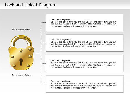 Lock Unlock Diagram Slide 4