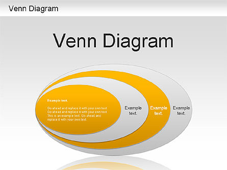 Business Models: Venn Ellipse Diagram #01197