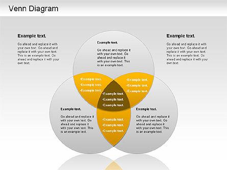 Venn Ellipse Diagram, Slide 2, 01197, Business Models — PoweredTemplate.com