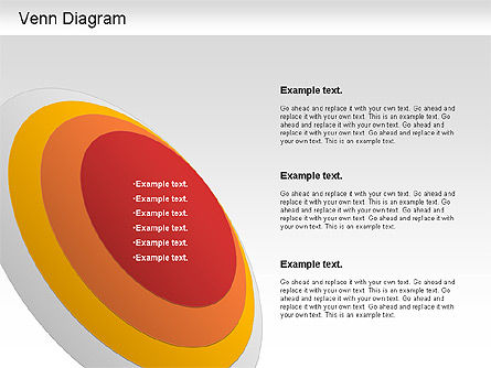 Venn Ellipse Diagram, Slide 3, 01197, Business Models — PoweredTemplate.com