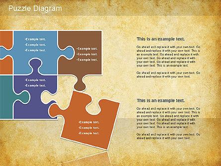 Jigsaw Diagram, Slide 7, 01198, Puzzle Diagrams — PoweredTemplate.com