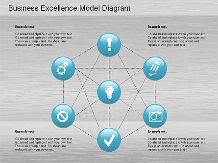 Business Excellence Model , Slide 2, 01200, Business Models — PoweredTemplate.com