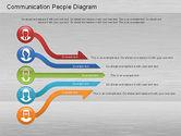 Process Diagrams: Communication People Diagram #01203