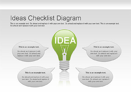 Ideas Checklist Diagram Slide 2
