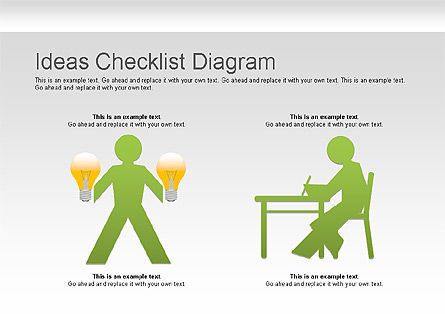 Ideas Checklist Diagram Slide 3
