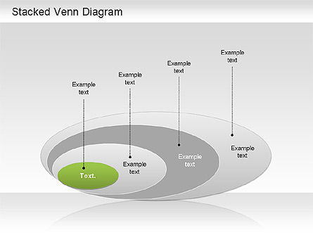 Business Models: Stacked Venn Diagram #01209