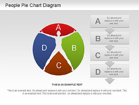 Pie Charts: People Pie Chart #01211