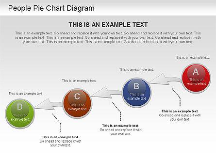 People Pie Chart, Slide 11, 01211, Pie Charts — PoweredTemplate.com