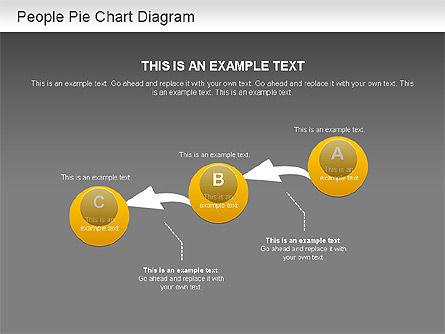 People Pie Chart, Slide 15, 01211, Pie Charts — PoweredTemplate.com