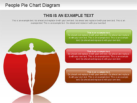 People Pie Chart, Slide 2, 01211, Pie Charts — PoweredTemplate.com