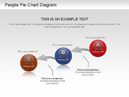 People Pie Chart, Slide 3, 01211, Pie Charts — PoweredTemplate.com