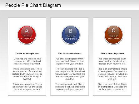 People Pie Chart, Slide 5, 01211, Pie Charts — PoweredTemplate.com