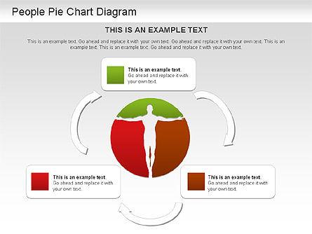 People Pie Chart, Slide 6, 01211, Pie Charts — PoweredTemplate.com