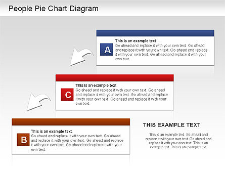 People Pie Chart, Slide 7, 01211, Pie Charts — PoweredTemplate.com