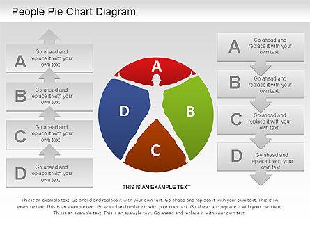 People Pie Chart, Slide 8, 01211, Pie Charts — PoweredTemplate.com