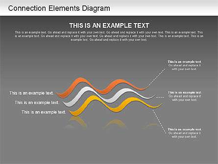 Lines and Shapes, Slide 15, 01216, Shapes — PoweredTemplate.com