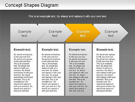 Concept Shapes Diagram, Slide 15, 01221, Shapes — PoweredTemplate.com