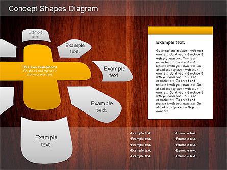 Concept Shapes Diagram, Slide 2, 01221, Shapes — PoweredTemplate.com
