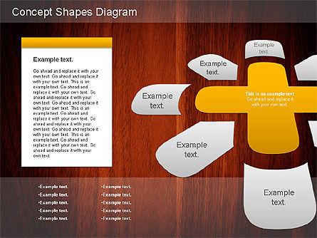 Concept Shapes Diagram, Slide 3, 01221, Shapes — PoweredTemplate.com
