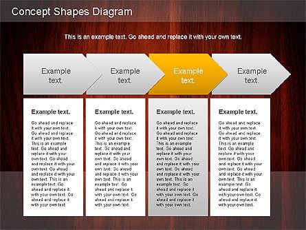 Concept Shapes Diagram, Slide 6, 01221, Shapes — PoweredTemplate.com