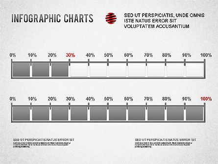 Infographics Charts, Slide 3, 01225, Presentation Templates — PoweredTemplate.com