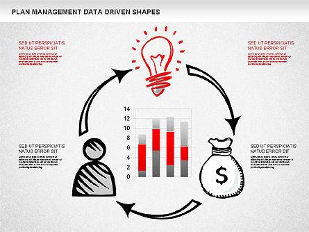Plan Management Diagram, Slide 3, 01227, Business Models — PoweredTemplate.com