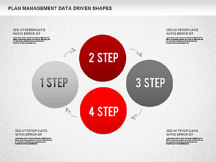 Plan Management Diagram, Slide 4, 01227, Business Models — PoweredTemplate.com