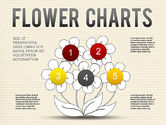Pie Charts: Flower Chart #01229