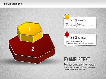 Comb Chart, Slide 2, 01230, Business Models — PoweredTemplate.com