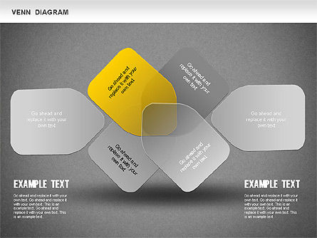 Funny Venn Diagram, Slide 14, 01231, Business Models — PoweredTemplate.com