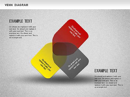Funny Venn Diagram, Slide 2, 01231, Business Models — PoweredTemplate.com