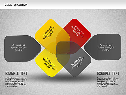 Funny Venn Diagram, Slide 6, 01231, Business Models — PoweredTemplate.com
