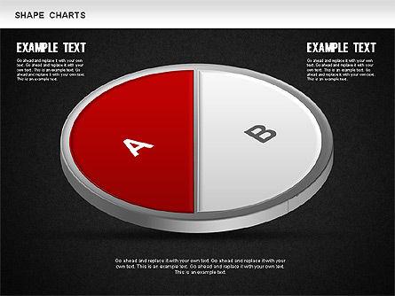3D Donut Pie Chart, Slide 11, 01234, Pie Charts — PoweredTemplate.com